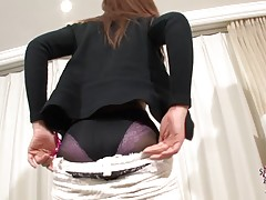 Elegant beauty in different angles, Miki Mizuasa has this sweet and adorable face that is an absolute head turner. Her nice set of big round titties is as tempting as aver, her ass still looks very fuckable and her cock is just so gorgeous and she`s going